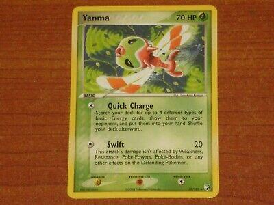 Pokemon Card: YANMA #28/109 HP70 EX-Team Rocket Returns Non-Holo Rare WOTC