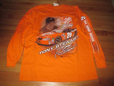 0752c9e7c Winners Circle TONY STEWART  14 HOME DEPOT Longsleeve (MED) T-Shirt