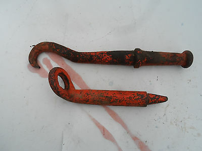 Farmall John Deere Moile Quick Hitch Hook Tractor Trailer Hand Tow