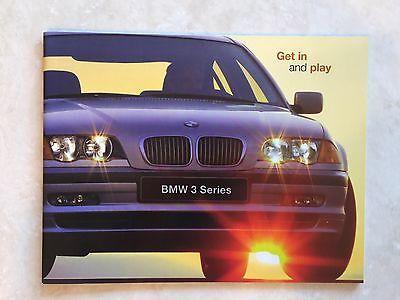 2000 BMW 3-Series Coupe 323Ci 328Ci Original Car Brochure Catalog