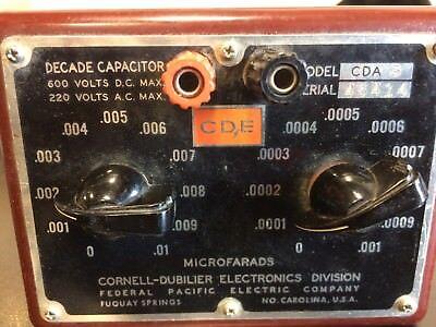 Cornell-dubilier Cda Decade Capacitor