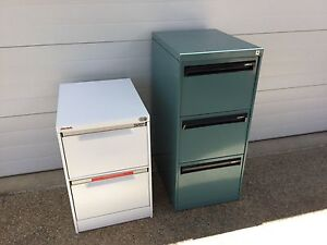 3 Draw & 2 Draw Filing Cabinets Mount Louisa Townsville City Preview
