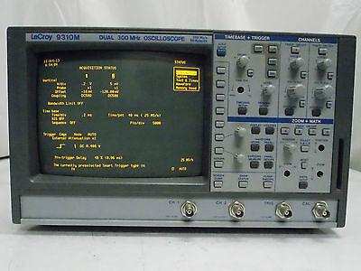 Lecroy 9310m Digital Storage Oscilloscope Dual 300mhz