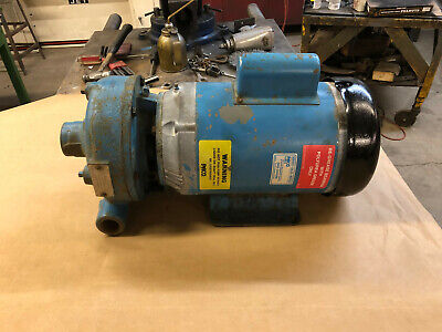 Paco Industrial Centrifugal Water Pump 80gpm Wbalfor 5hp Single Phase 3450rpm