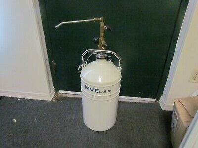 Mve Lab 10 Liter Liquid Nitrogen With The Withdrawal Device