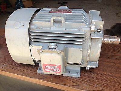 General Electric 5 Hp Motor 15 Amp