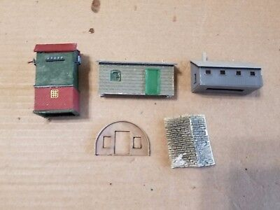 N Scale Building Pieces (5 total)