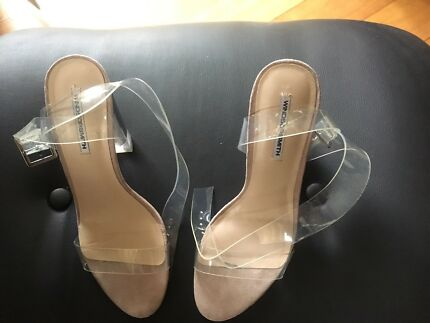 ce08b4a03a2 Windsor Smith Brand New with box Remi Heels black leather 8.5 ...