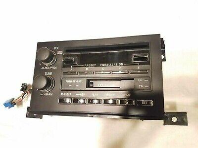 93-96 Cadillac Fleetwood AM/FM Cassette CD Player Radio Head Unit OEM