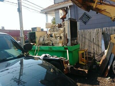 150 Kw Diesel Generator John Deere 6076 940 Hr