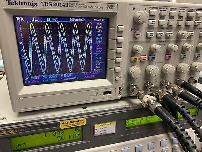 Tektronix Tds 2014b Digital Oscilloscope