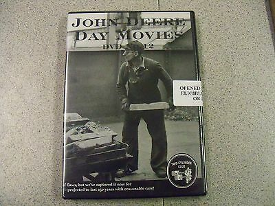 John Deere Day Movie Dvd 12 1936 1940 Tractor Works Model B Pull Type Combine