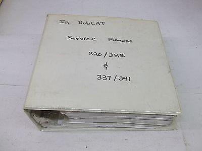 Bobcat Models 320 320l 322 337 341 Excavator Service Manual