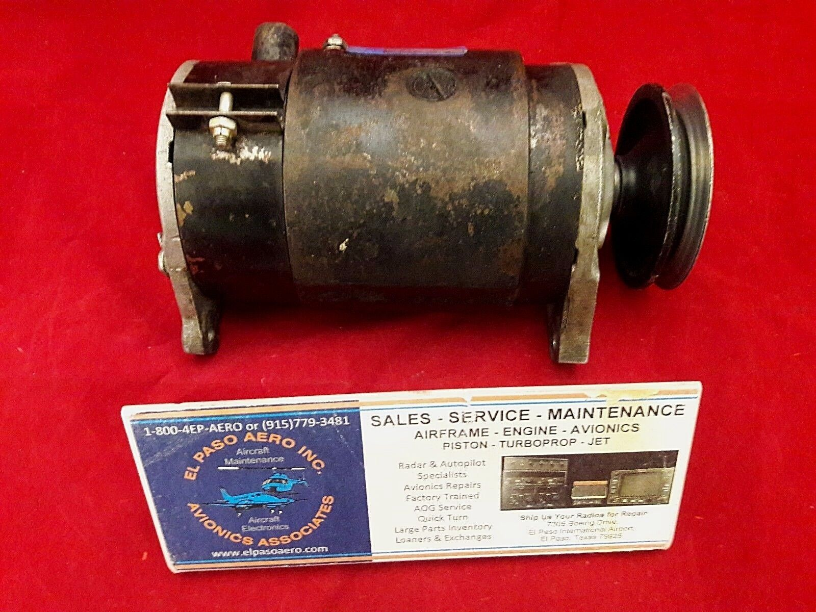 Delco-Remy Generator Model 1101912. As removed condition. $150.
