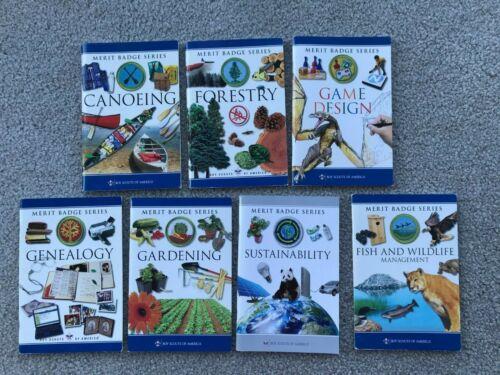 Pick 5 ~ BSA Boy Scouts of America Merit Badge Books ~ Pick 5