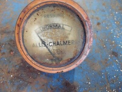Allis Chalmers Styled Wc Gas Farm Tractor Oil Gauge