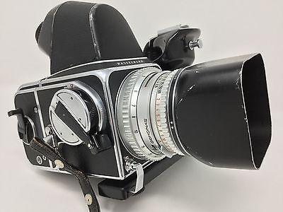 Hasselblad 500C Medium Format Camera w/ 80mm F2.8 Planar Chrome Lens