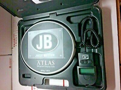 Jb Industries Atlas 220 Lb. Capacity Refrigerant Charging Scale Pre Owned