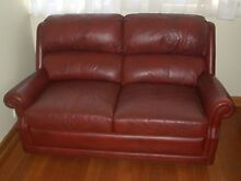 Moran Leather Two seater couch Ringwood North Maroondah Area Preview