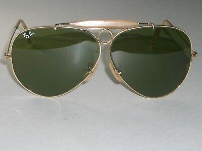 1980's VINTAGE B&L RAY-BAN RB3 TRU-GREEN UV ARISTA