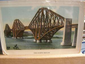 Postcard, The Forth Bridge, 1912, 384