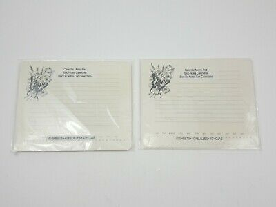 Studio18 Butterfly on Flower 40 Sheet Calendar Memo Pad 2 pack (Studio 18 Calendars)