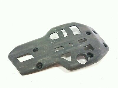 11 TRIUMPH TIGER800XC Lower Belly Pan Under Skid Smash Rash Guard Bash Plate