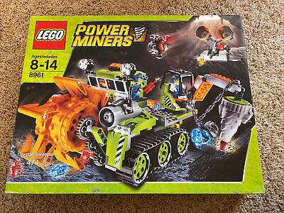 LEGO Power Miners 8961 Crystal Sweepers SEALED
