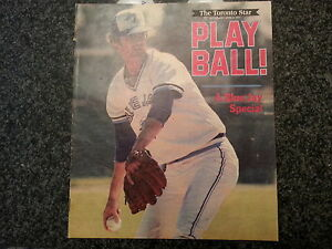 Toront Blue Jay Special 1977 Toronto Star Preview