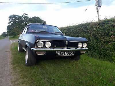 1972 Vauxhall viva hc solid black good history 99p no reserve