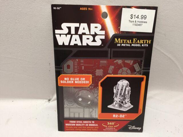 Metal Earth STAR WARS  R2-D2 3D Laser Cut Steel Model Kit