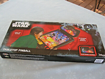 2016 Jakks Pacific Disney Star Wars tabletop pinball game light-up action & soun