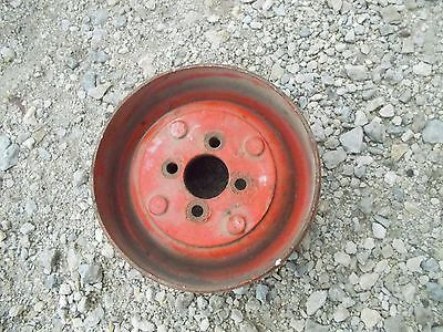 Allis Chalmers G Tractor Original Ac Steel Belt Pulley Extremely Rare