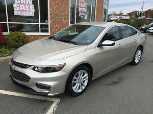2016 Chevrolet Malibu LT w/ Turbo, Backup Camera, Remote Start