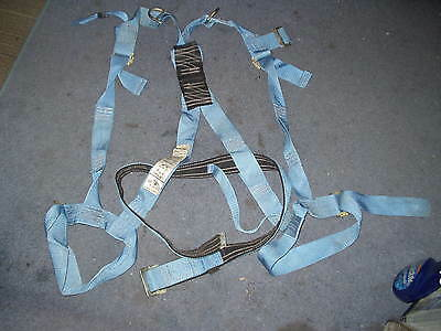 Rose Mfg Co Full Body Safety Harness Construction Heavy Duty W Metal