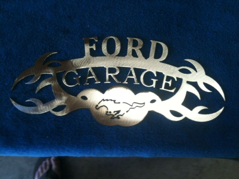 Plasma cut Ford  Garage Metal Wall Art Home Decor