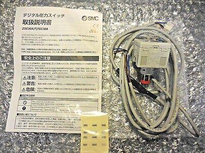Smc Zse30a-n7h-n Digital Pressure Switch 12-24vdc 40ma Max 0-101kpa Class 2
