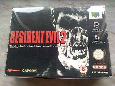 RESIDENT EVIL 2 - Nintendo 64, UK-ESP-IT PAL version, excellent condition (N64)