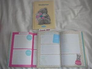 TATTY-TEDDY-FRIENDSHIP-AUTOGRAPH-BOOK-GIFT-BIRTHDAY-KEEPSAKE-SCHOOL-LEAVERS