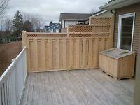 Decks, Fences, Gazebos, Etc.