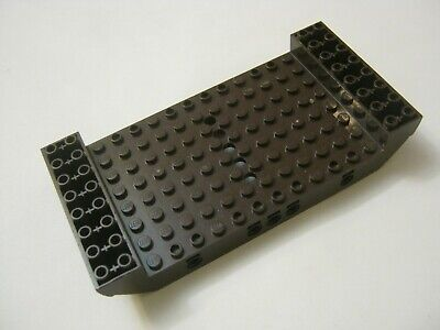 Lego (1) Brown 8x16x2 1/3 Boat Hull Section, 5 Holes, 95227 (028-187)