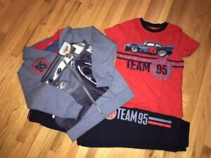 NEW 3 piece size 5 CARS track suit