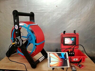 200ft Sewer Camera 512hz Transmitter - Pipe Inspection With Wifi