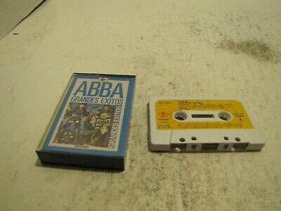 ABBA GRANDES EXITOS CASSETTE TAPE