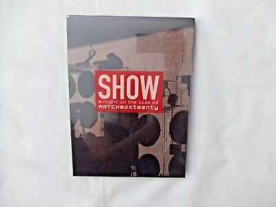 SHOW a night in the life of MATCHBOXtwenty DVD, Used A Night In China