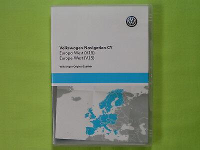 NAVIGATION CD HAUPTSTRASSEN EUROPAS 2011 V3 OCTAVIA SUPERB SKODA RNS AMUNDSEN