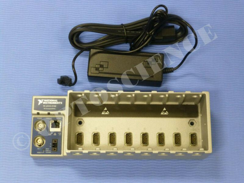 National Instruments NI cDAQ-9188 Ethernet CompactDAQ Chassis, 8-Slot