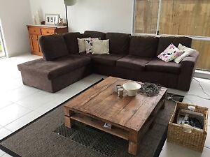5 seater lounge with chaise Grasmere Camden Area Preview