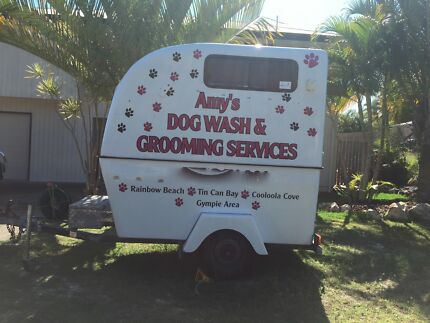 MOBILE DOG GROOMING TRAILER AND EQUIPMENT Rainbow Beach Gympie Area Preview