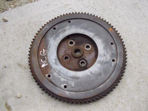 Allis Chalmers G tractor AC engine motor flywheel & starter ring gear CK